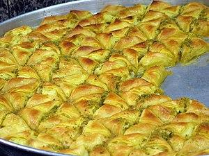 Kurdish cuisine - Paklawa (Baklawa)
