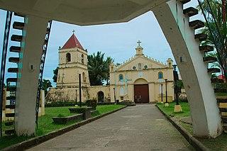 Balangiga Municipality in Eastern Visayas, Philippines