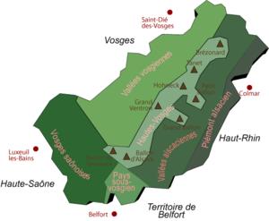 Ballons des Vosges Nature Park