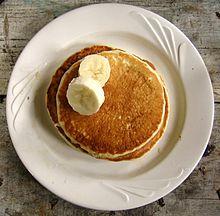Pancake (frittelle americane) con banane