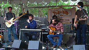 Band of Horses live bei South by Southwest, 2006