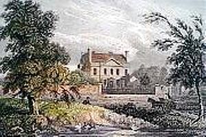 Joseph Banks - Banks' house in Isleworth