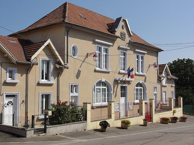 Bannoncourt (Meuse) mairie
