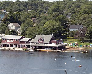 Sport in Halifax, Nova Scotia - A canoe club on Lake Banook in Dartmouth