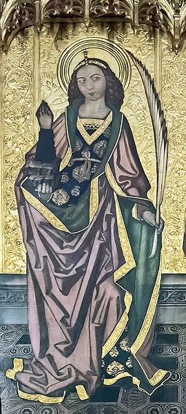 Thekla, Märtyrerin, Heilige