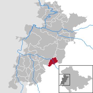 Barchfeld-Immelborn - Image: Barchfeld Immelborn in WAK