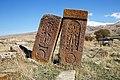 Bardzruni, Cross-stones of Yakobos ^ Thamar, XVI c. - panoramio.jpg