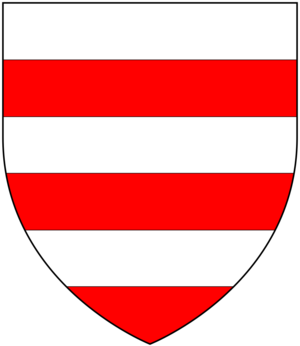 William II de Soules - Coat of arms of Lord of Liddesdale