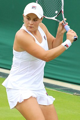 Winnares in het enkelspel, Ashleigh Barty