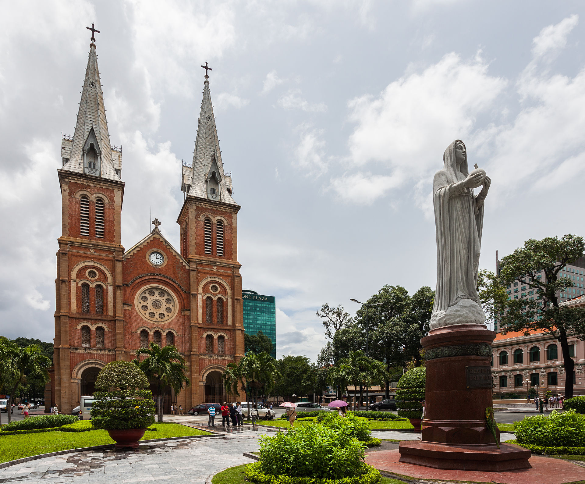 Notre Dame Cathedral Basilica of Saigon Wikipedia