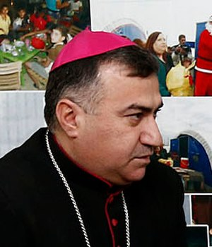 Chaldean Catholic Archeparchy of Arbil - Image: Bashar Warda 2015 (15811240534) cropped