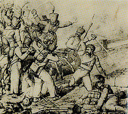 Description de l'image Bataille de Thouars 1815.jpg.