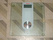 Load-cell based bathroom scale: Affected by the strength of gravity