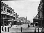 Bathurst Street, Sydney, from Hyde Park (4903872556).jpg