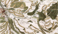 Battle of Laubressel Cassini Map.png