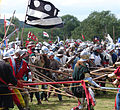 Battle of Tewkesbury reenactment - holding the line.jpg