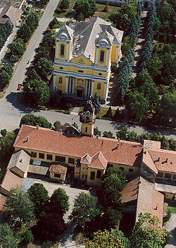 Aerial photography: Battonya - Temple
