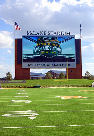 McLane Stadium - McLane Stadium video board