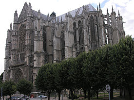 Catedral ëd Beauvais.