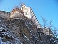 Bechyně, zámek, zdola z Táborské.jpg