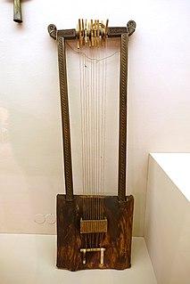 Begena Ehiopian and Eritrean musical instrument