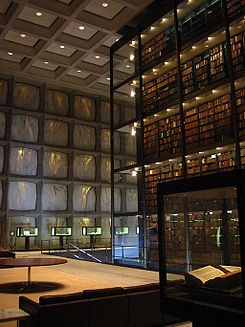 Beinecke Library interior.JPG