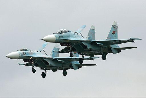 Belarus Air Force Sukhoi Su-27UB Pichugin-1