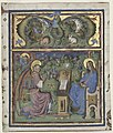 Belbello da Pavia, Initial M Excised from an Antiphonary, he Annunciation, cleveland museum of art.jpg