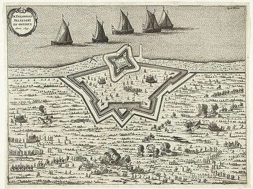 Belegering en ontzet van het fort Philippines