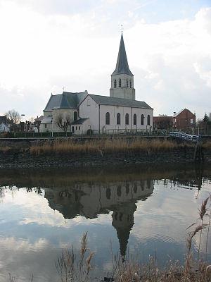 Wichelen - Image: Belgium, Schellebelle, Church