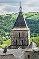 Bell tower of the Saint Sauveur Church in Severac 01.jpg