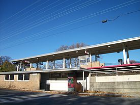 Bellerose LIRR Station; South Side-1.JPG