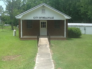 Bellville, Georgia - Image: Bellville City Hall