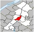 Beloeil Quebec location diagram.PNG