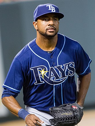 Ben Francisco - Francisco with the Rays in 2012