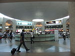 Ben Gurion International Airport הכיכר במבט מהשדרה.JPG