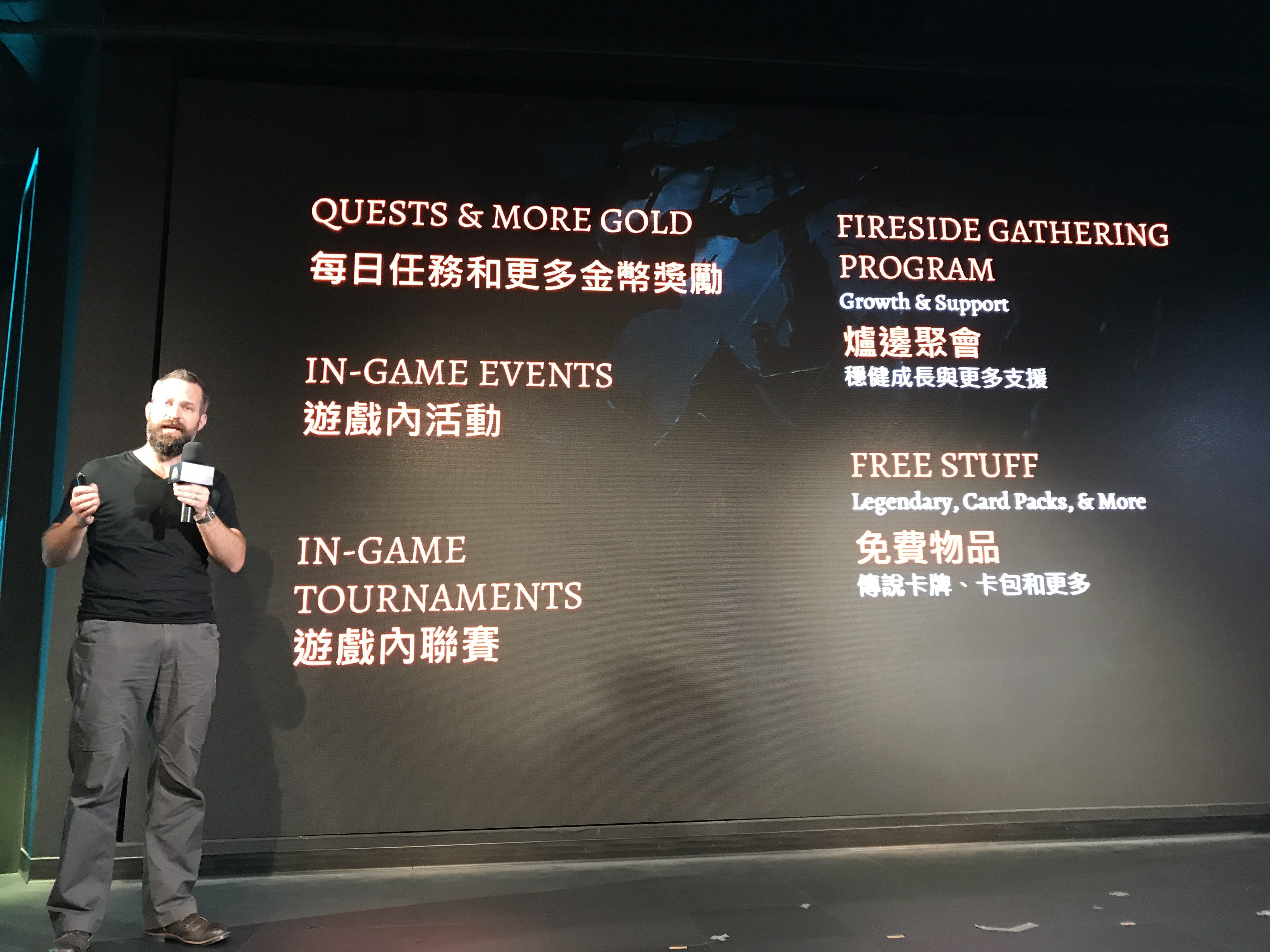 File:Ben Thompson Talking about Improvement of Hearthstone