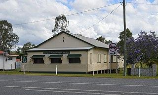 Benaraby Town in Queensland, Australia