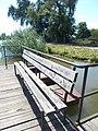 Bench, pier and boat, 2018 Ráckeve.jpg