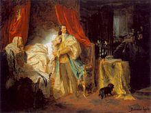 Gyula Benczúr (1844–1920): cattura di Francesco II Rákóczi presso il castello di Nagysáros (1869)