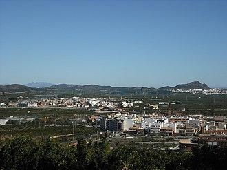 Benifairó de les Valls - Image: Benifairó i Quartell. Vista
