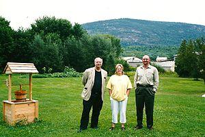 Champ (folklore) - Sandra Mansi with investigators Joe Nickell and Benjamin Radford