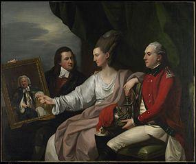 Portrait Group of the Drummond Family, Peter Auriol Drummond (1754-1799), Mary Bridget Milnes Drummond (1755-1835), and George William Drummond (1761-1807)