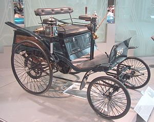 Benz Velo - Benz Velo at the Toyota Automobil Museum