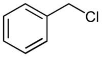 Benzyl chloride structure.png