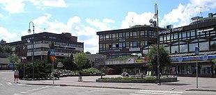 <em>Bergslagstorget</em> in central Finspång