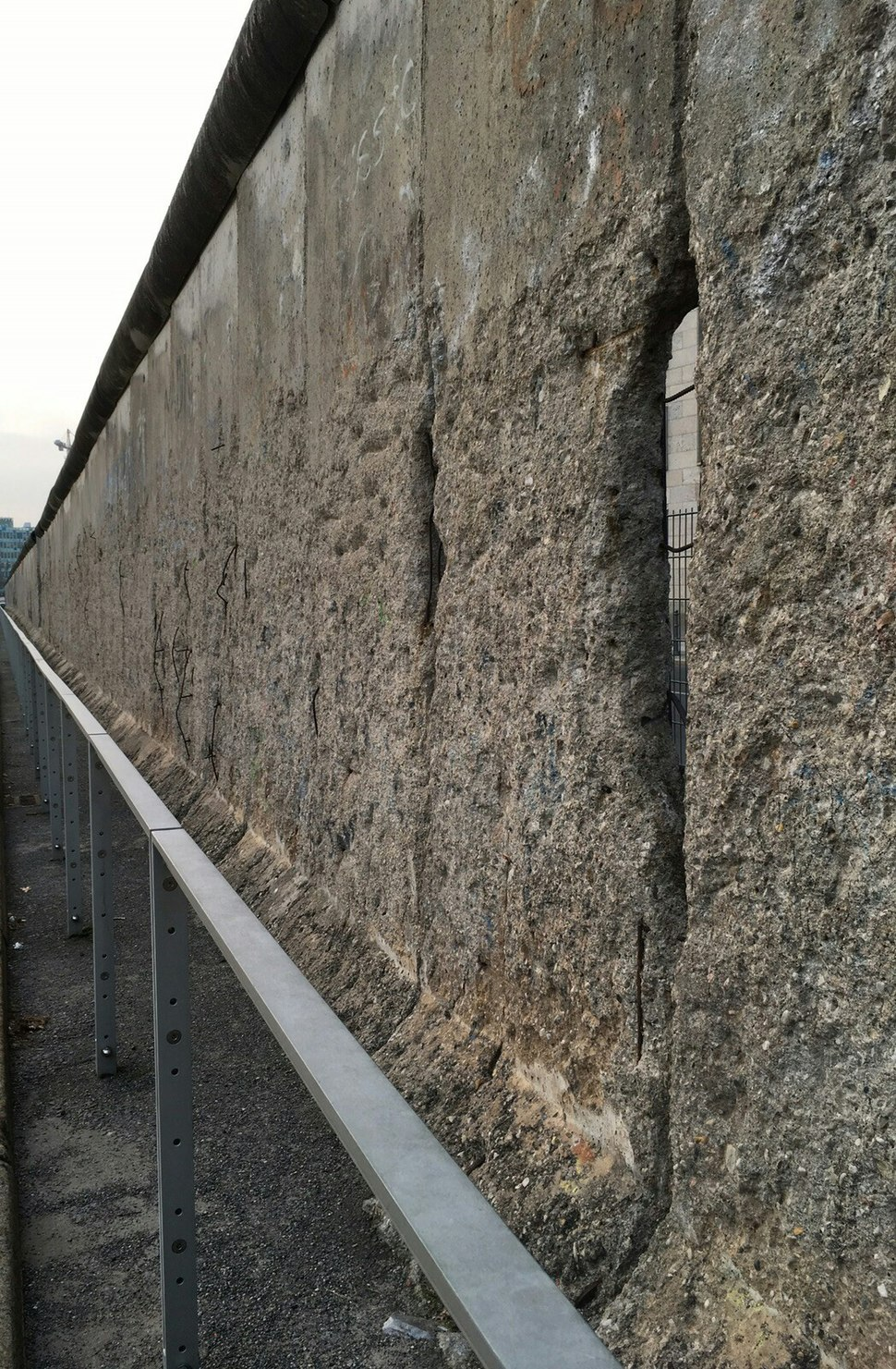 Berlin wall holes