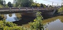 Berthierville-Riv. Bayonne-pont de la route 138-vu coté Nord-2018-09-15.jpg