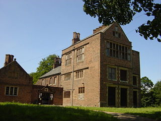 Bewsey Old Hall Grade II* listed building in Burtonwood and Westbrook, Cheshire, UK