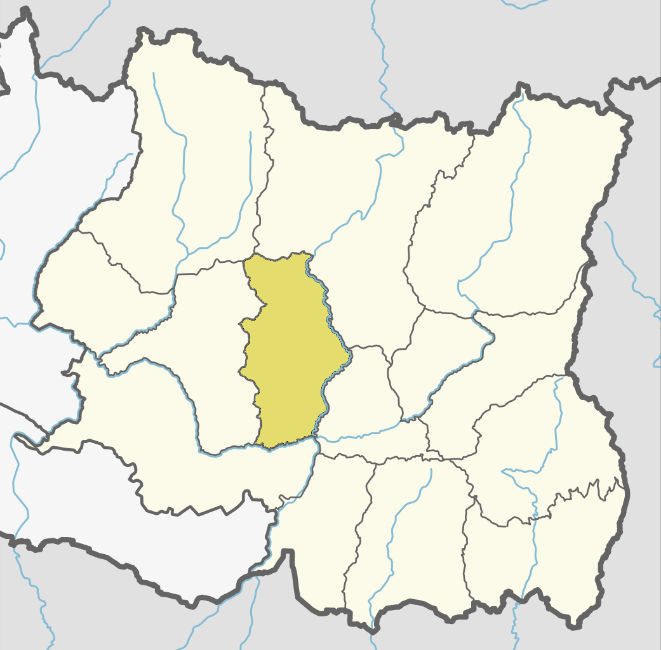 Location of Bhojpur district